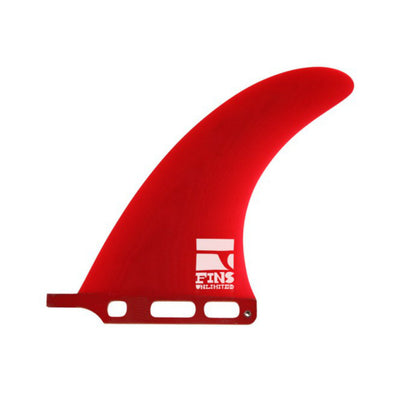 "D.d. 7.5"" Fin By Fins Unlimited Red Tint"
