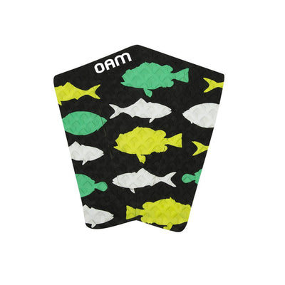 Fishes Surf Traction Pad Green