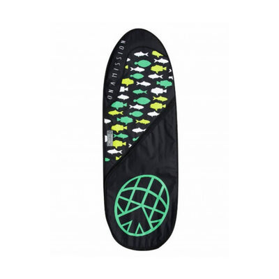 "Fish Mission 6'4"" Board Bag Green Fish"