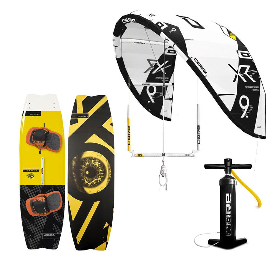 Hardcore XR5 Freestyle Kiteboarding Package