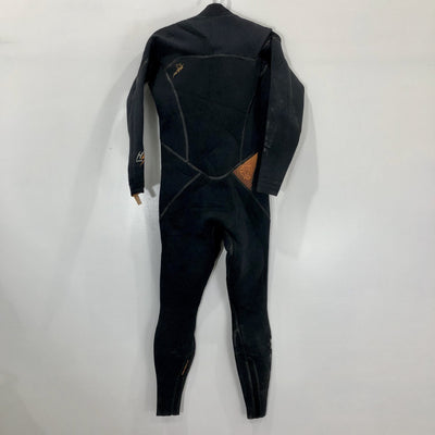 USED Mystic Wetsuit High Voltage Full Suit M back