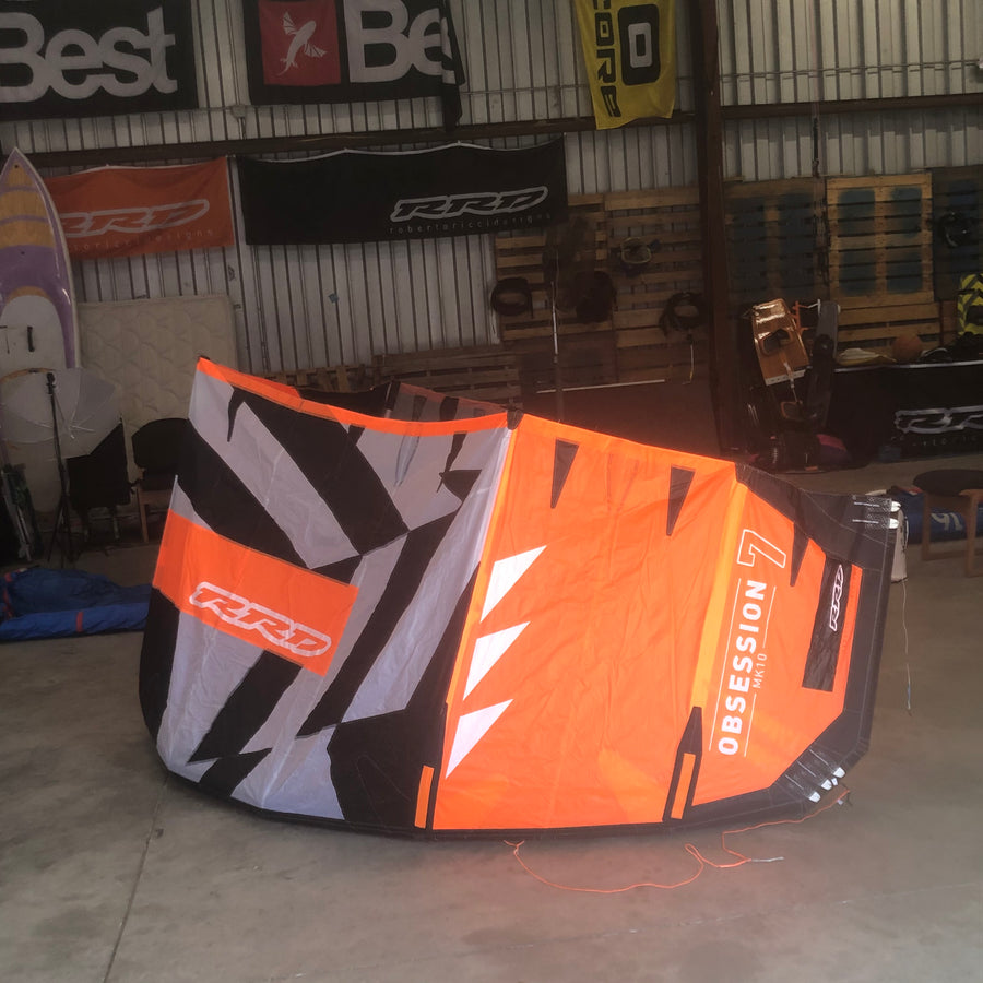 USED RRD OBSESSION MK10 7.0 Kiteboarding Kite, 2018