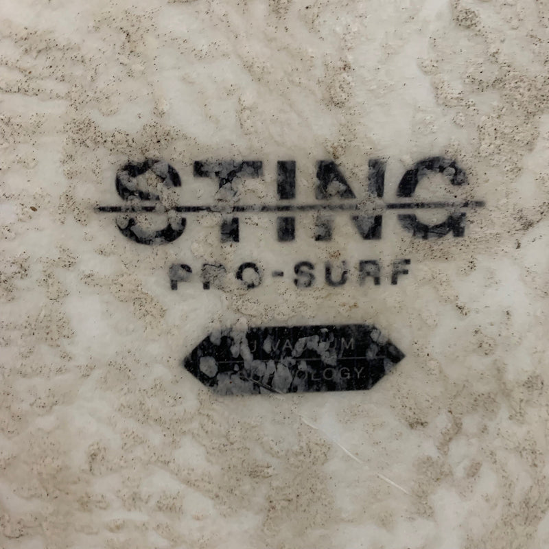 "USED Best Sting 5'10"" Kitesurf Board, 2017 front"