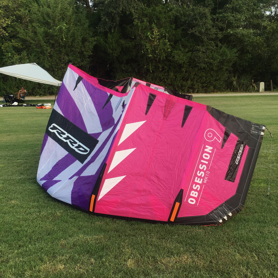 USED RRD Obsession MK10 9.0 Kiteboarding Kite, 2018