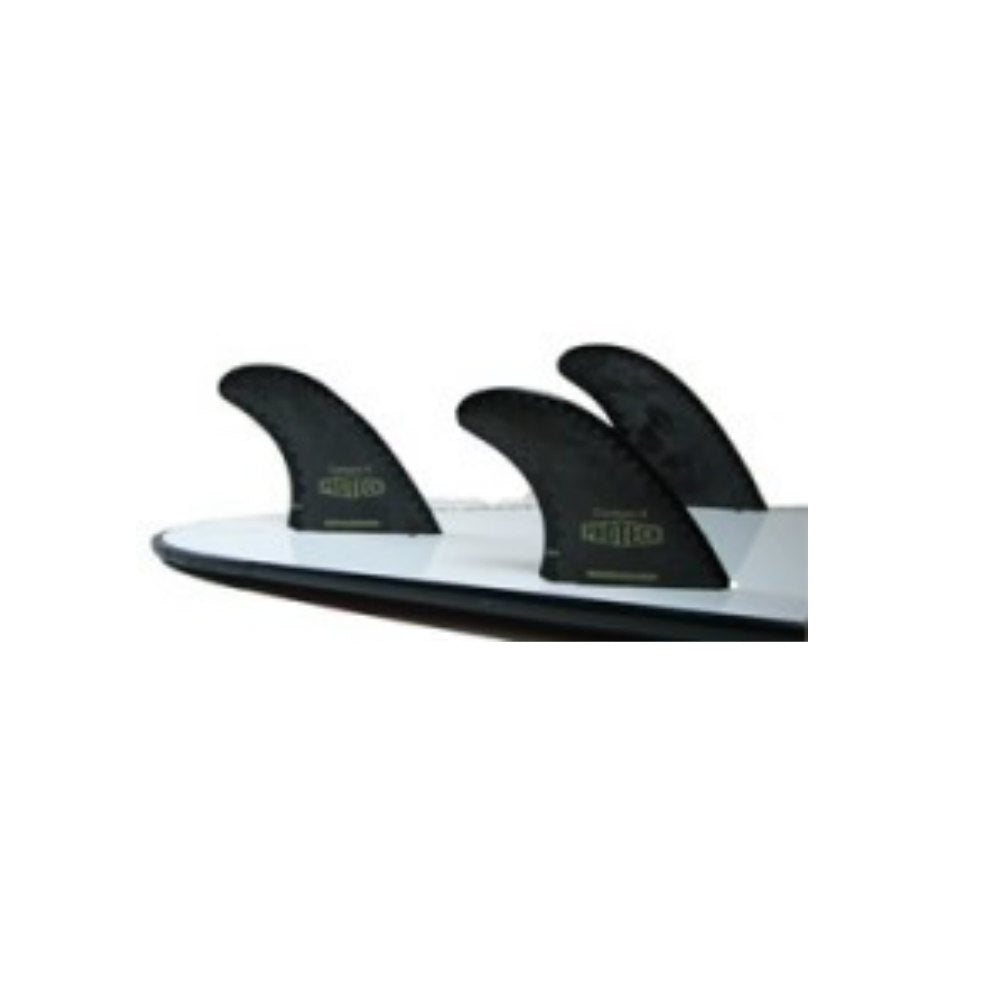 "Pro Teck Performance Thruster Fin Set Futures 4.0"" By Surfco Hawaii"