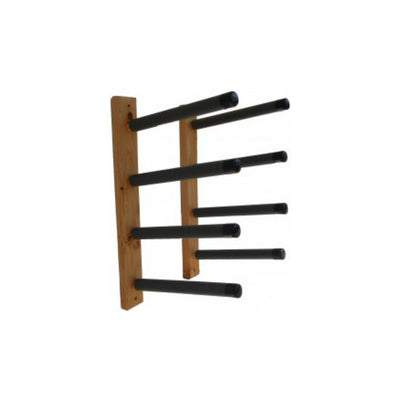 Paradise Quad Wood Wall Surfboard Rack/pair