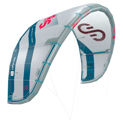 2022 Eleveight RS Kiteboarding Kite - Light Grey
