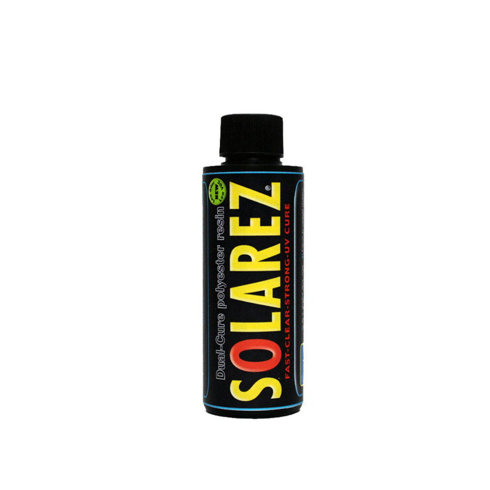 "Solarez Low-VOC Clear ""Dual Cure"" Polyester Resin"