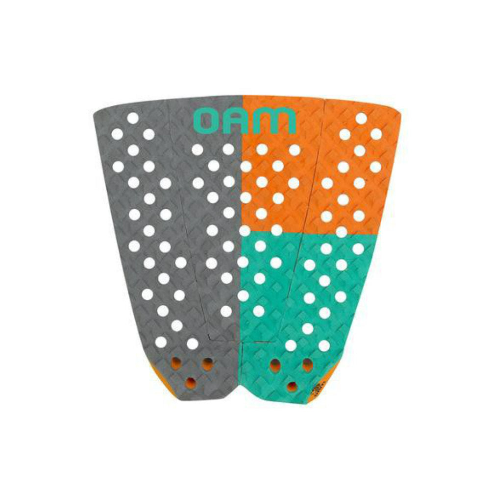 Solid Surf Traction Pad Grey/orange/teal