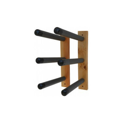 Paradise Triple Wood Wall Surfboard Rack/pair