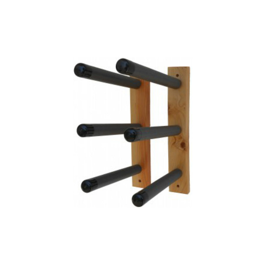 Paradise Wood Wall Surfboard Rack