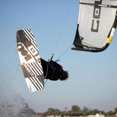 2020 Core Bolt 3 Twintip Kiteboard Flying Action