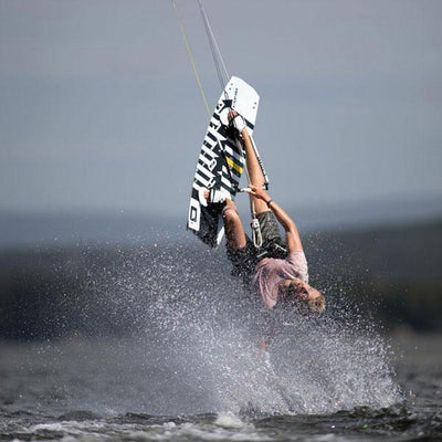 2020 Core Choice 3 Twintip Kiteboard Action
