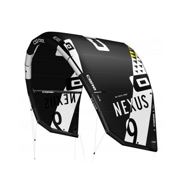 2020 Core Nexus Kiteboarding Black Kite
