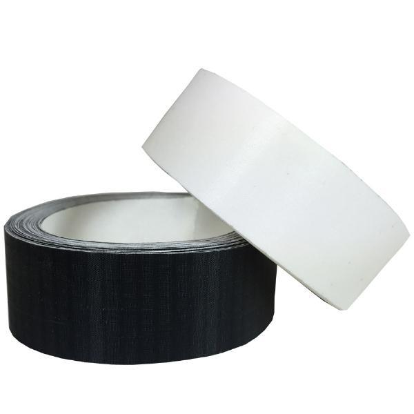 "Fix My Kite 1"" Ripstop Nylon Sail Tape - by the foot (clear white or black)"