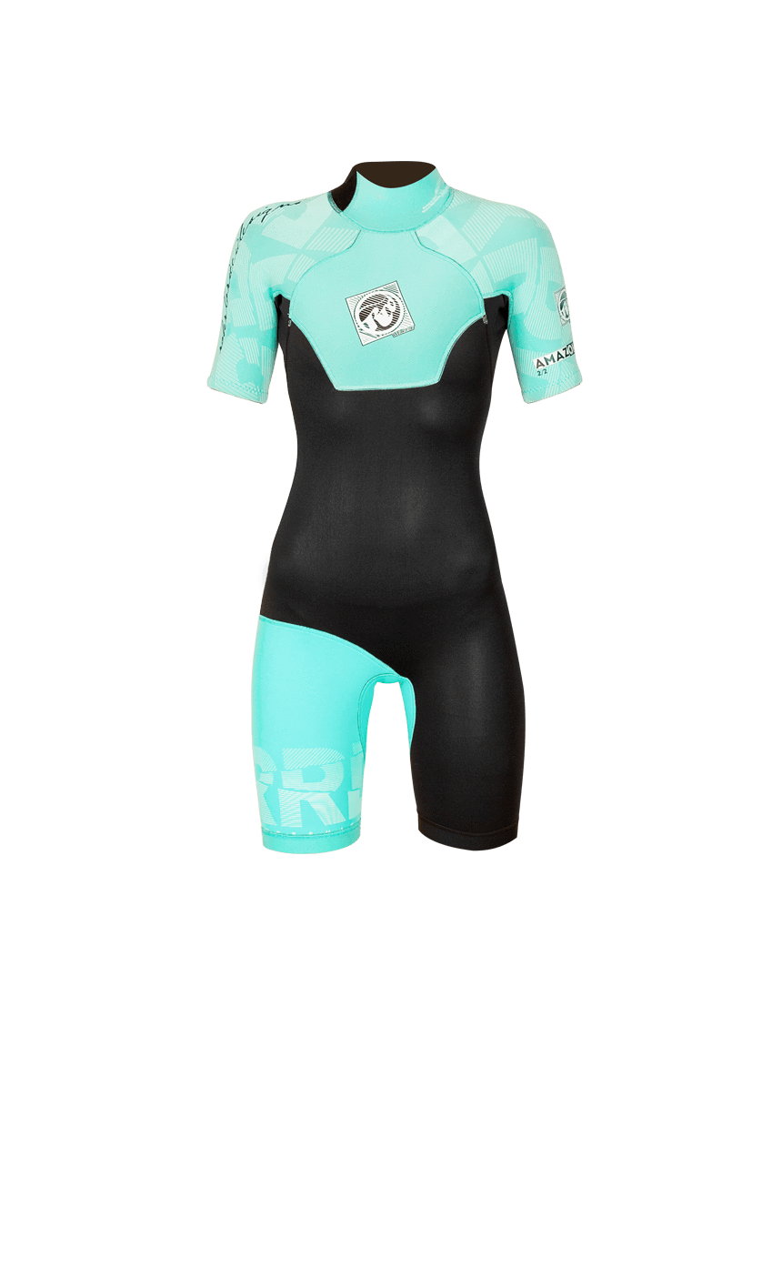 RRD Amazone Back Zip 2/2 Shorty Flatlock, 2016 ACCESSORIES / WOMENS / WETSUITS