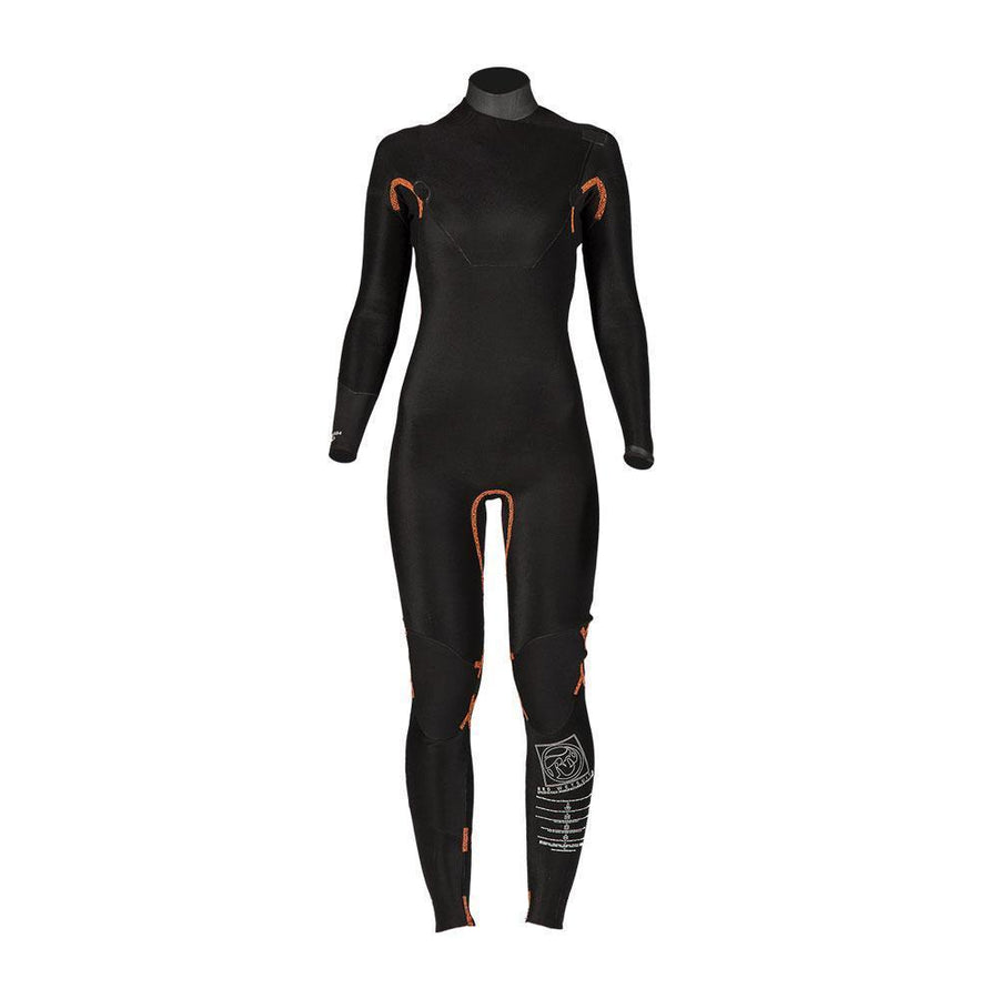 RRD Amazone 5/3 Chest Zip Women's Wetsuit, 2017