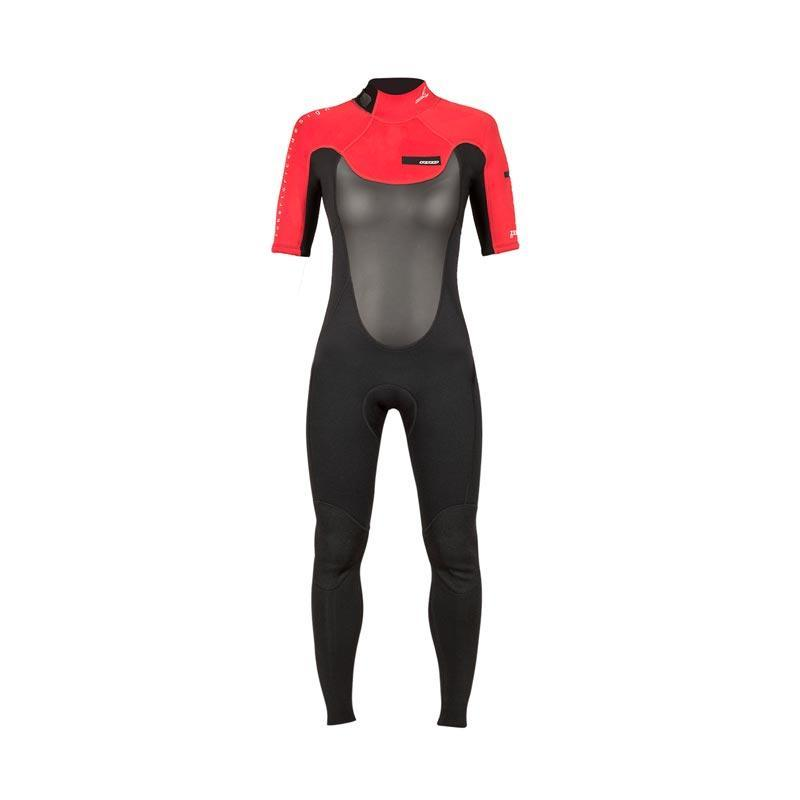 Zerow Short Sleeve Backzip Flatlock 2/2 Women's Wetsuit, 2016