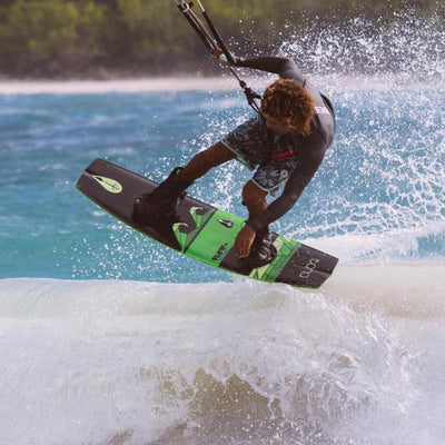 Tona Flow 2.0 Wakestyle Kiteboard (Board and fins only) - Action