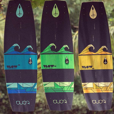 Tona Flow 2.0 Wakestyle Kiteboard (Board and fins only) - All Sizes Top