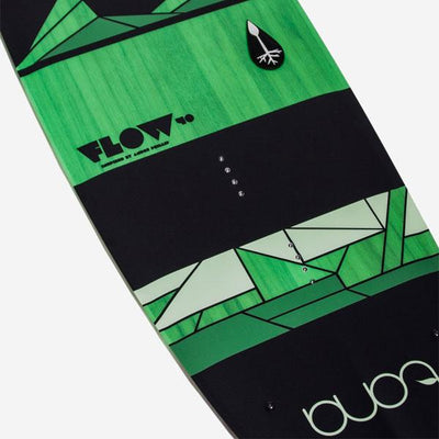 Tona Flow 2.0 Wakestyle Kiteboard (Board and fins only) - Green Top