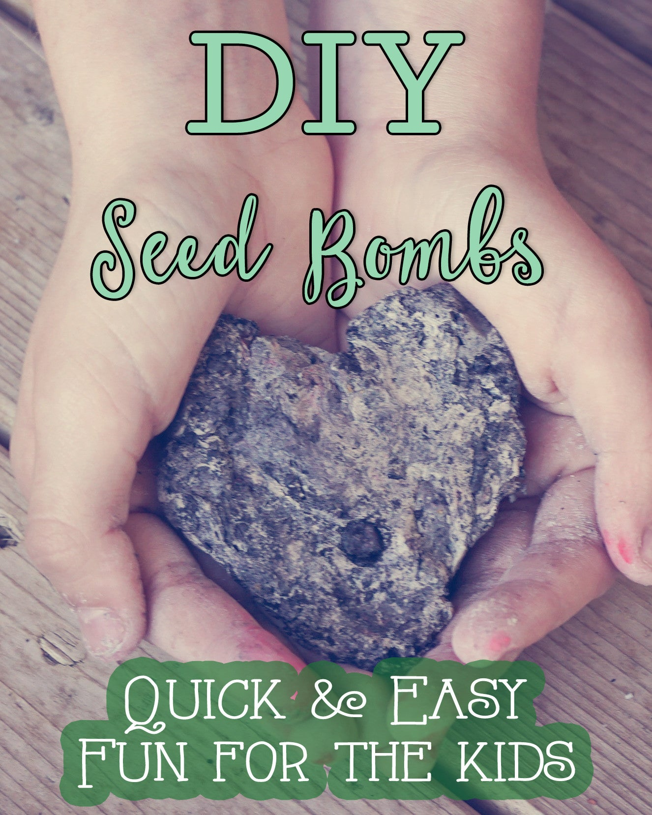 Easy and Fun Spring DIY:  Seed Bombs