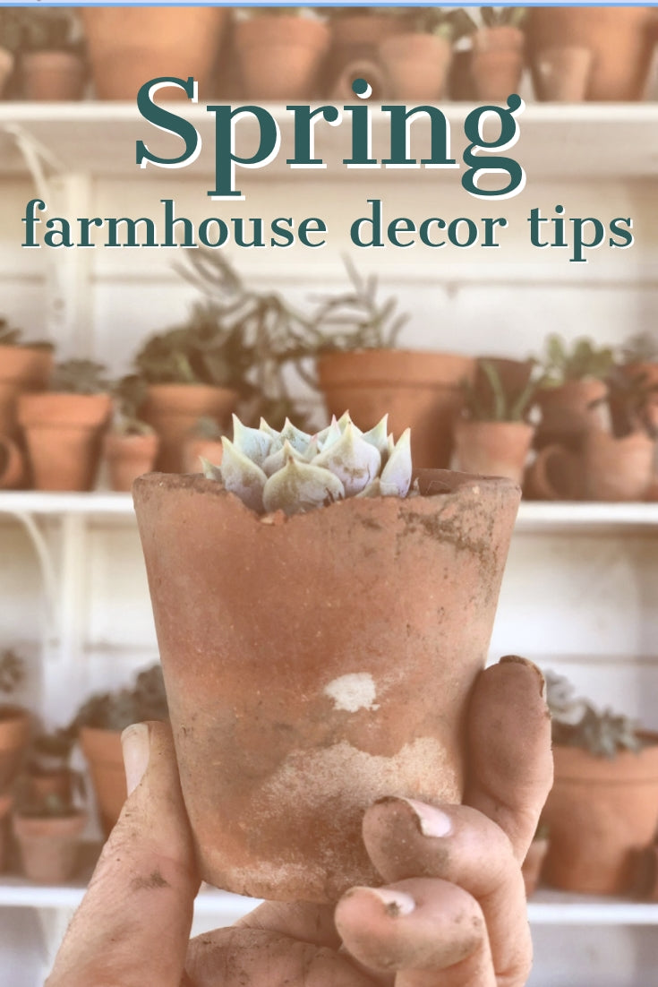 Styling Farmhouse Spring Decor from the Julia Box