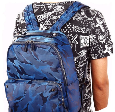"Camouflage ""Water Resistant"" Backpack"