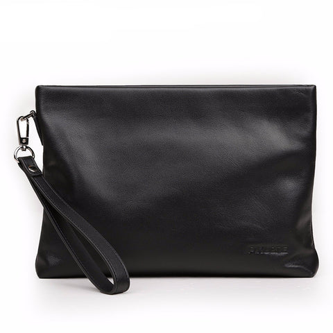 Leather Clutch Bag by P.Kuone