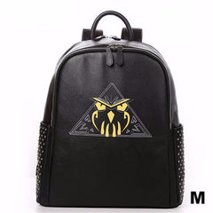 Hazard Owl Leather Backpack