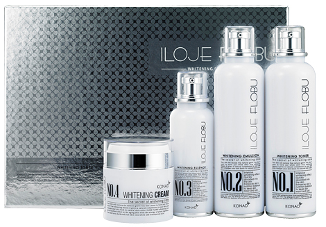 Iloje Flobu - Whitening Skin Care Line (4 Set)