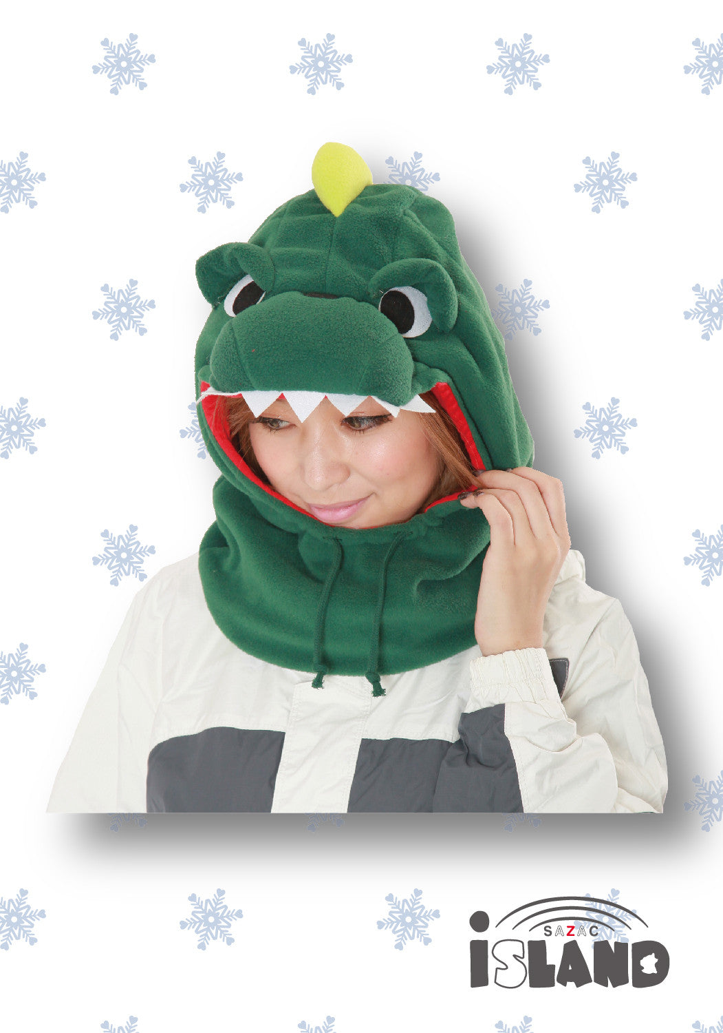 Dinosaur Neckwarmer OUTLET SALE