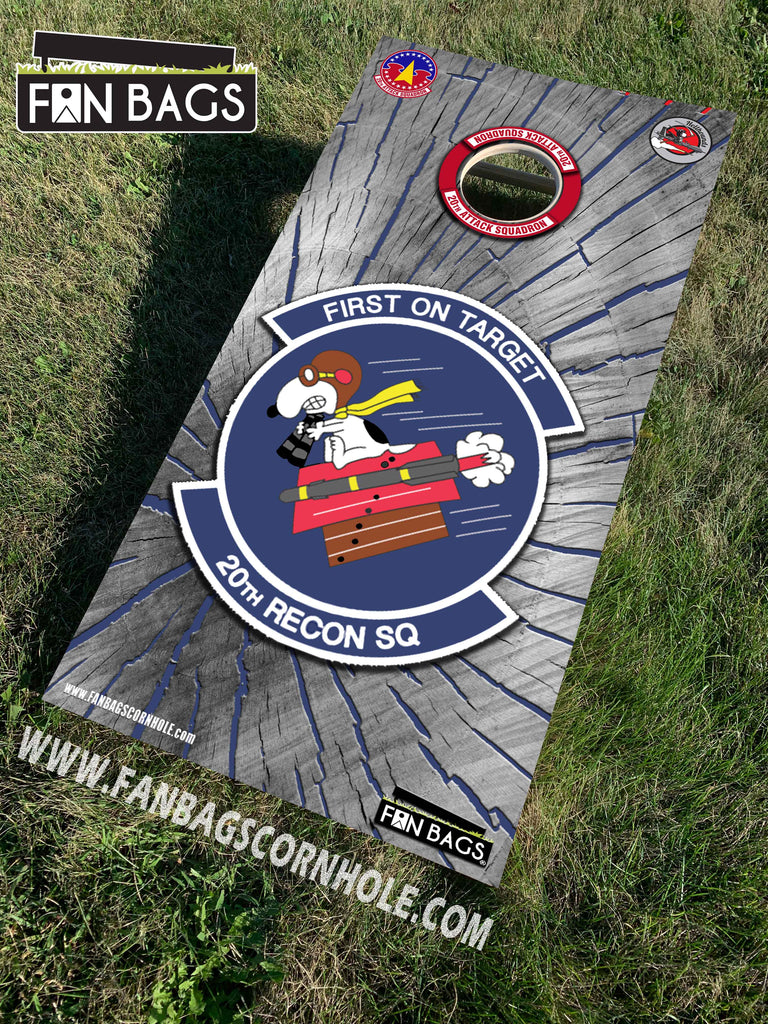 20TH ATTACK SQUADRON CORNHOLE SETS