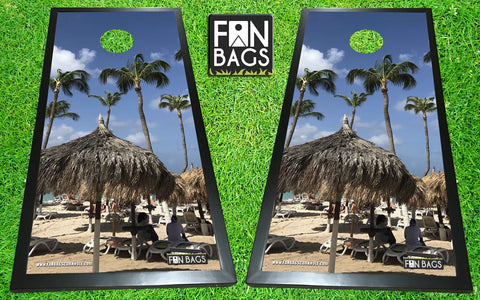 Aruban Beach Cornhole Set