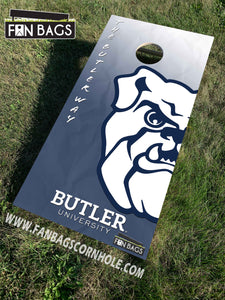 Butler Basketball Floor  MINI BAGGER Tabletop Game - FanBags Cornhole