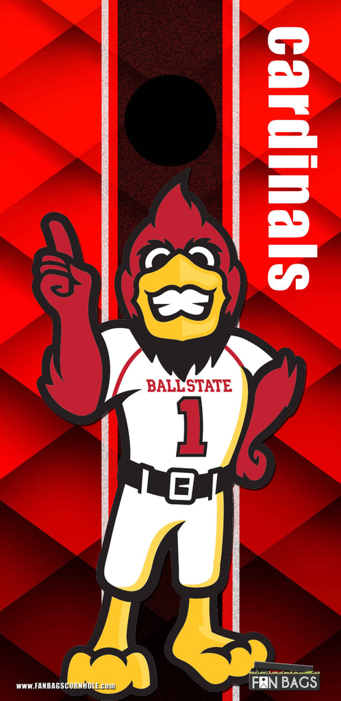 BALL STATE UNIVERSITY CORNHOLE SET