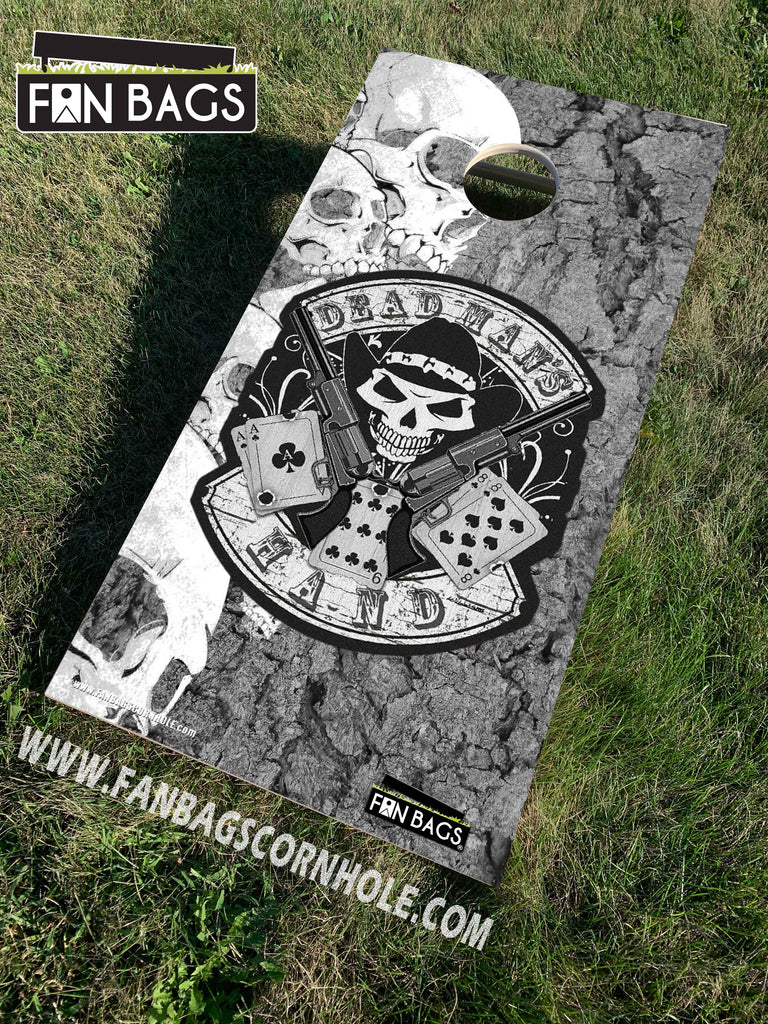DEADMANS HAND CORNHOLE SETS