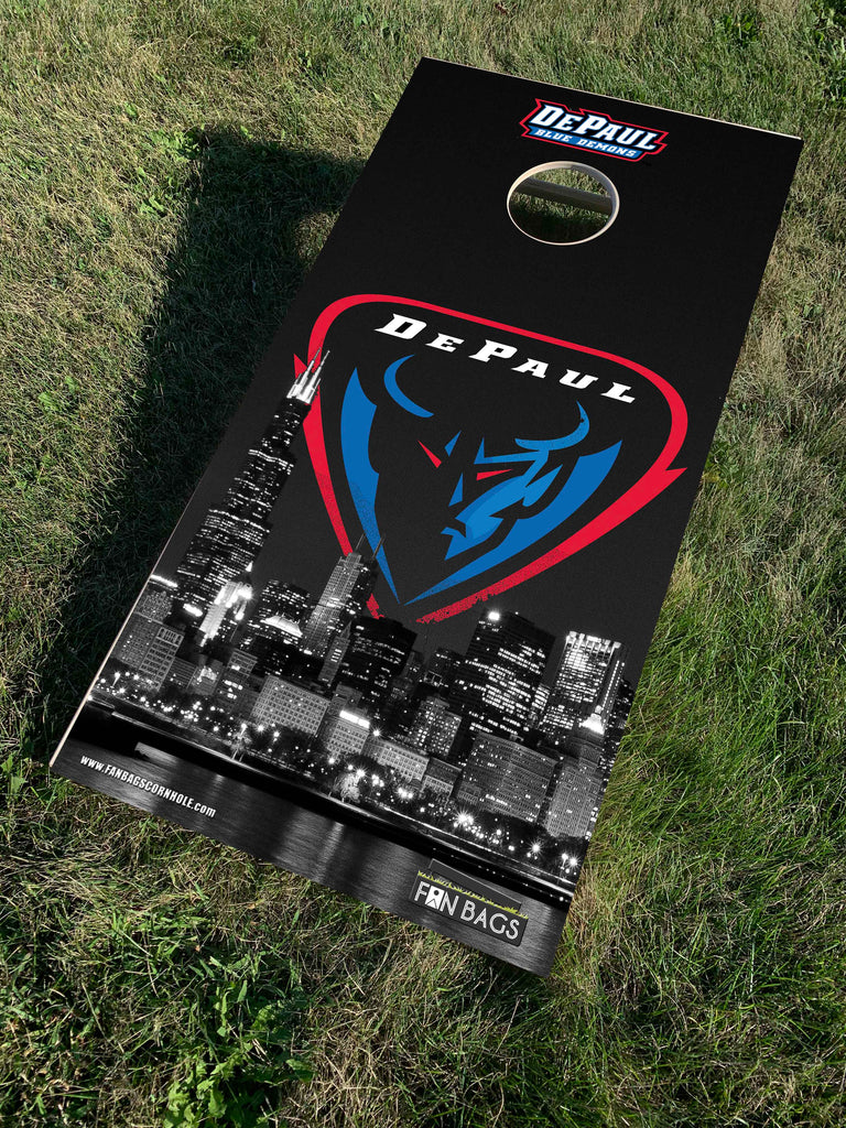 DEPAUL UNIVERSITY CORNHOLE SETS