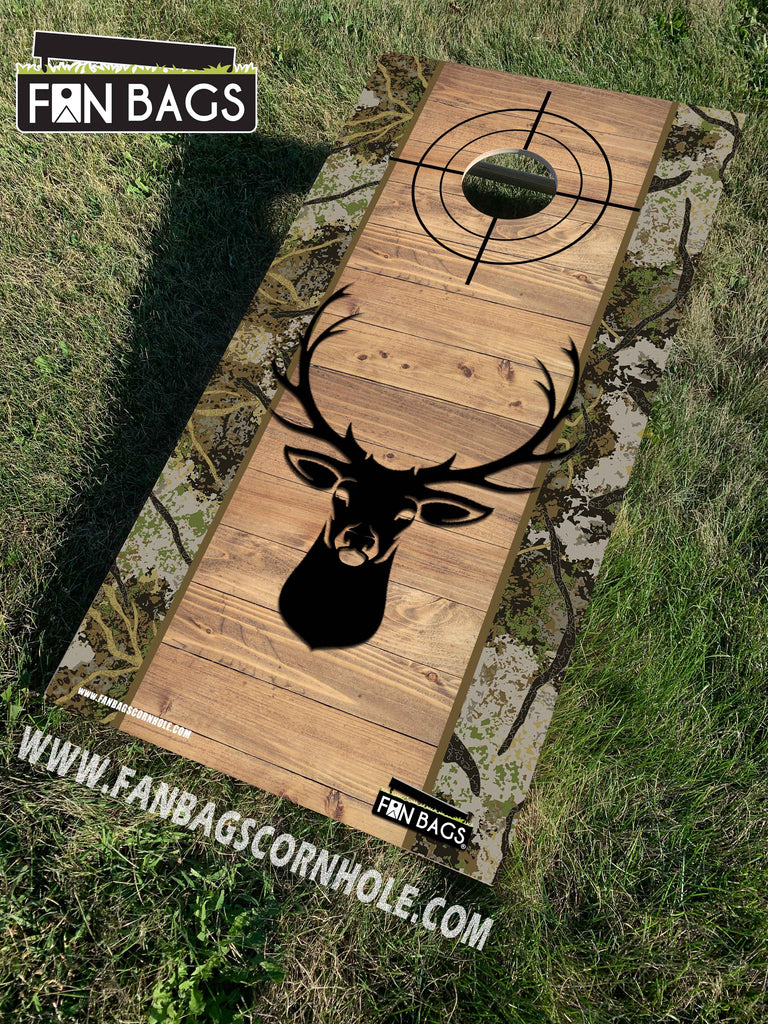 HUNTING THEMED CORNHOLE SETS