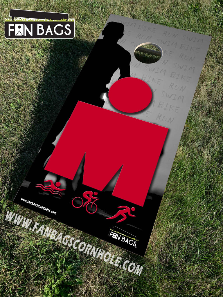 IRONMAN TRIATHALON CORNHOLE SETS