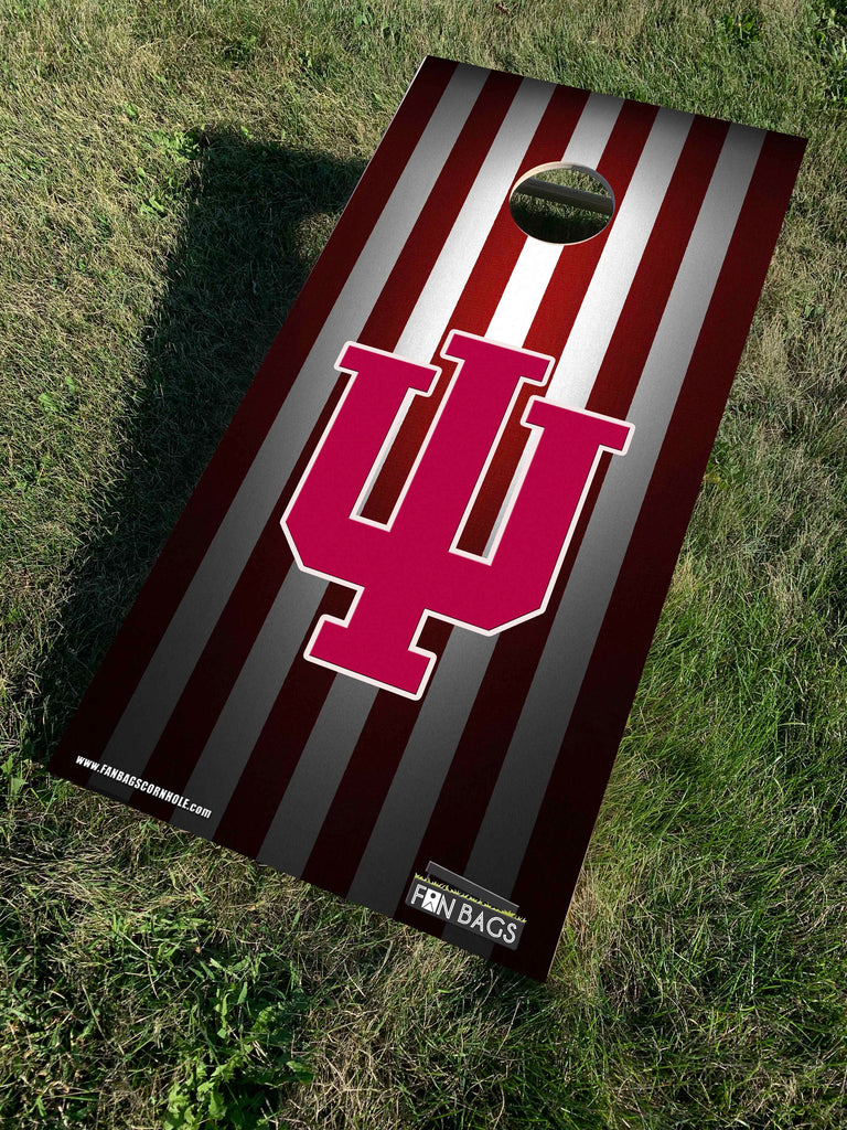 INDIANA UNIVERSITY CORNHOLE SETS