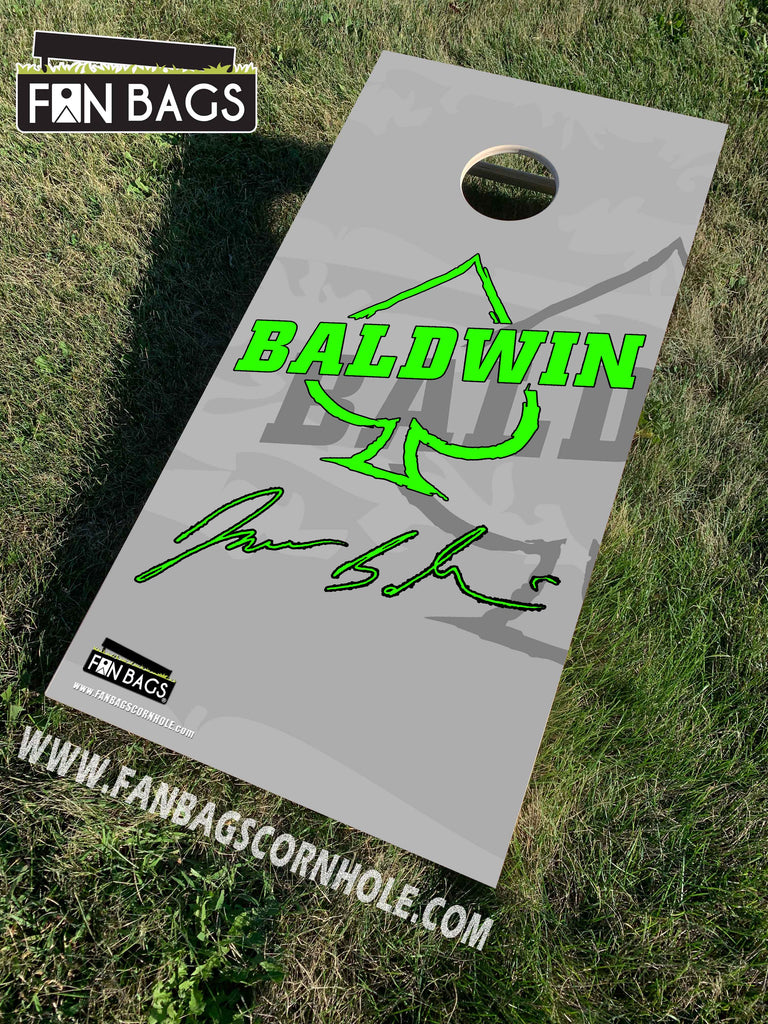 JAMES BALDWIN CORNHOLE SET