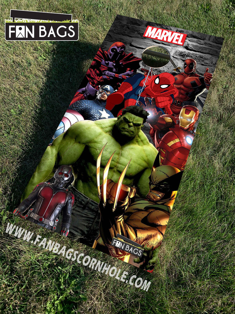 MARVEL CORNHOLE SETS