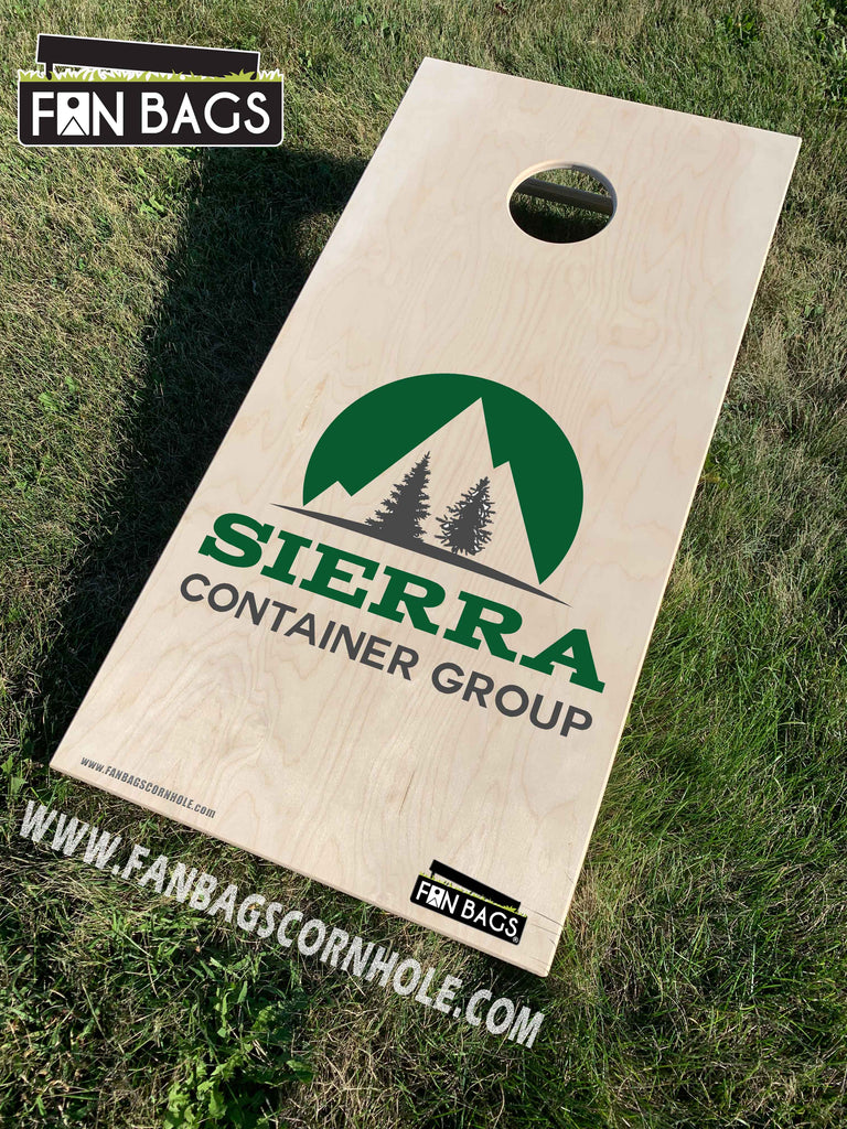 SIERRA CONTAINER CORNHOLE SETS