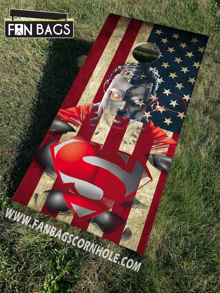 SUPERMAN CORNHOLE SETS