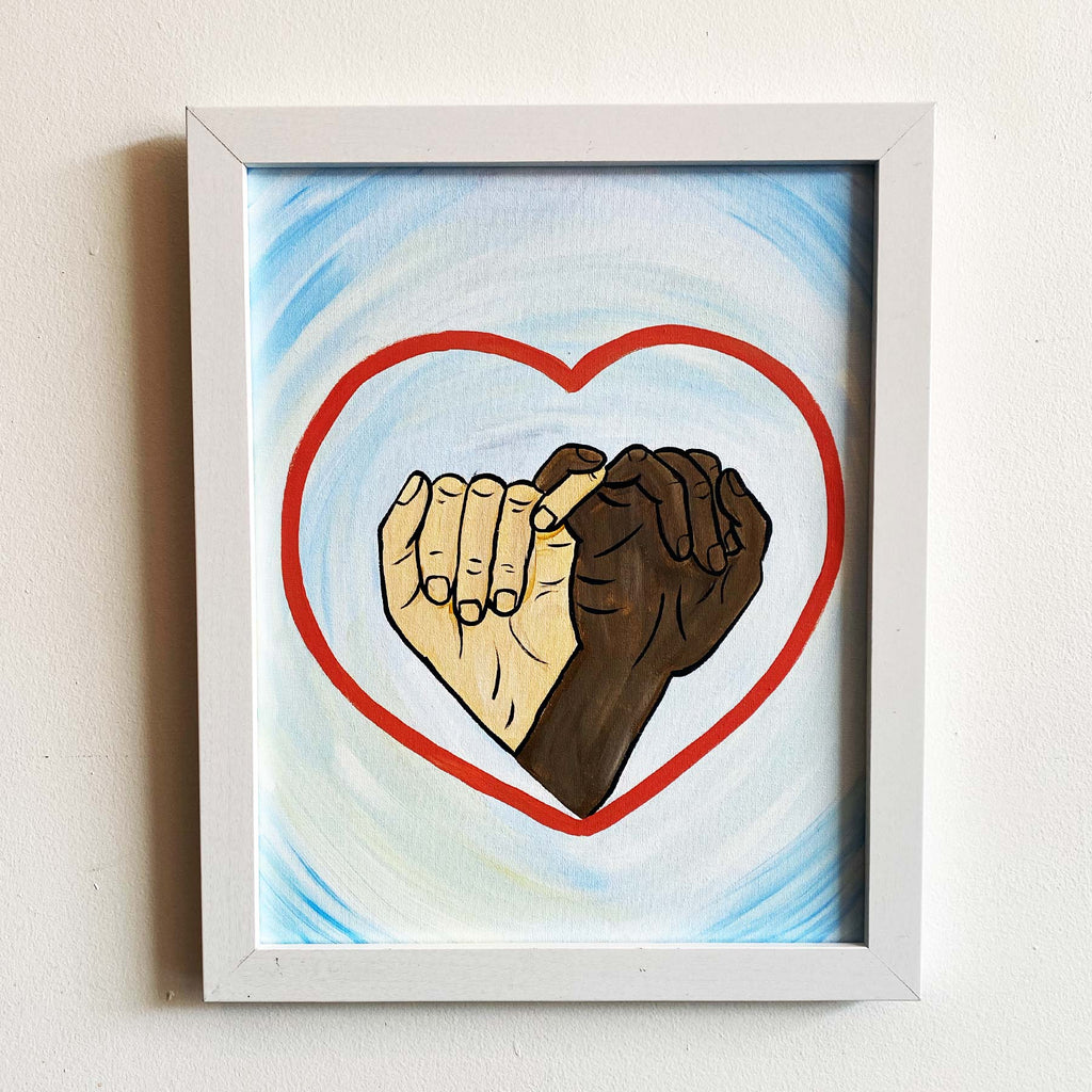 "Thursday, July 9, 2020: ""BLM Pop Art"" Canvas Painting @ Studio 614"
