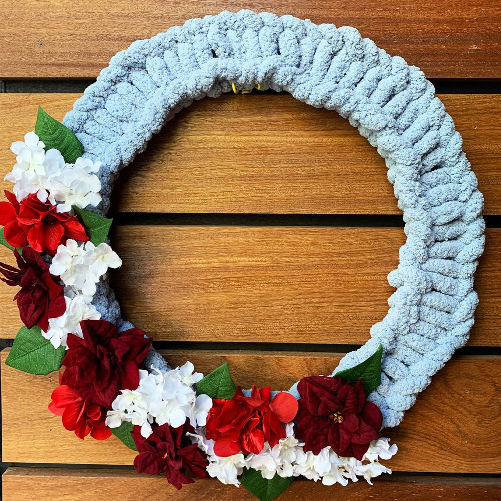 "Sunday, December 6, 2020: ""Knitted Wreath Workshop"" @ Brewdog *Canal Winchester*"