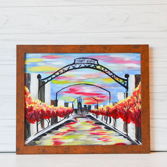 "Saturday, February 15, 2020: ""Short North Arches"" Canvas Painting @ Studio 614"