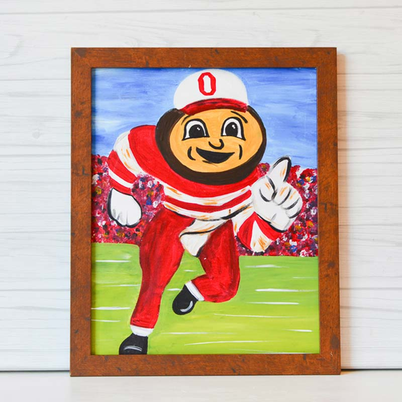 "Friday, October 23, 2020: ""Brutus"" Canvas Painting @ Studio 614"