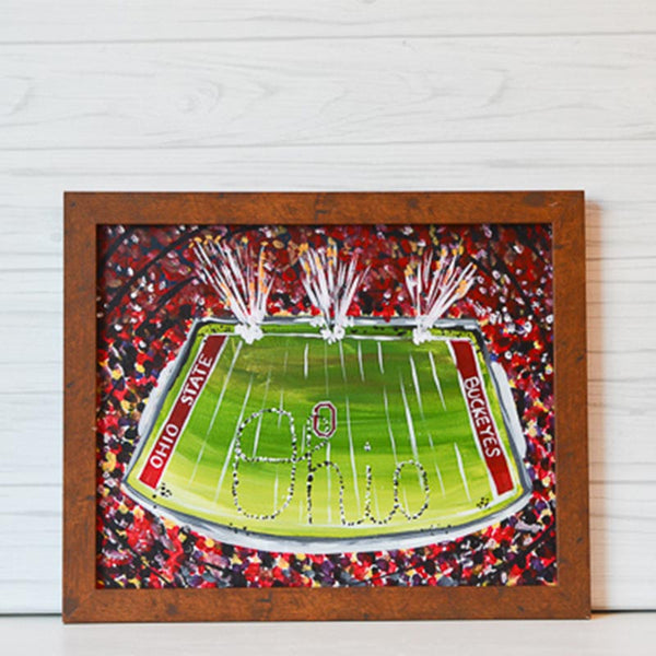 "Friday, September 6, 2019: ""Buckeye Nation"" Canvas Painting {Pregame Party!} @ Studio 614"